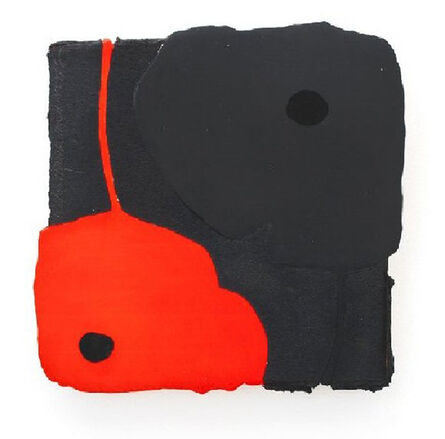 Donald Sultan, 'Black and Red Poppy', 2005