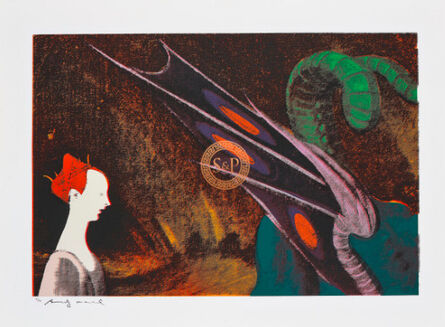 Andy Warhol, 'Paolo Uccello, St. George and the Dragon', 1984