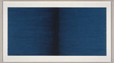 Irma Blank, 'Radical Writings, Schrift-Atem-Aufzeichnungen V 15-10-91', 1991