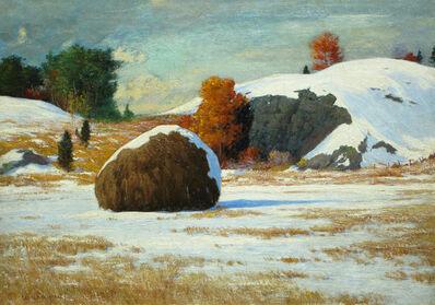 George Wainwright Harvey, 'Early Snow, Rowley Marshes, Massachusetts', ca. 1912