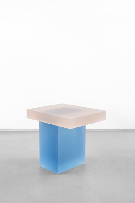 Wonmin Park, 'Haze Stool (Orange and Blue)', 2015