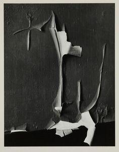 Minor White, 'Peeled Paint, Rochester, New York', 1959-printed circa 1975