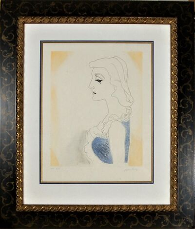 Man Ray, 'Tony, from the suite, Ballade des Dames Hors du Temps,', 1970
