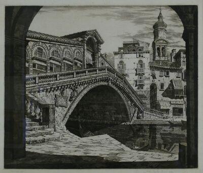 John Taylor Arms, 'Rialto Bridge, Venice', 1930