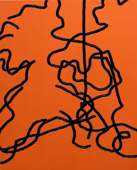 BIEN, 'Double orange tiger', 2020