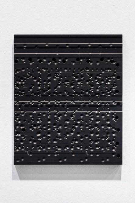 Johannes Wohnseifer, 'Aluminium Painting (black)', 2021