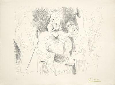 Pablo Picasso, 'Portrait de Famille, Six Personnages', 1962