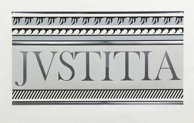 Roy Lichtenstein, 'ENTABLATURE XA', 1979