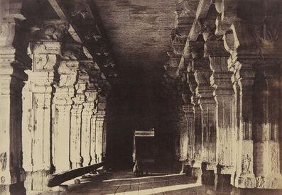Linnaeus Tripe, 'Madura, The Great Pagoda, Veeravasuntharoya's Munduppum', 1858