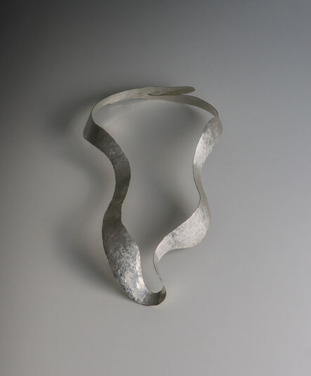 """Jacques Jarrige, 'NECKLACE  sculpted in Silver by Jacques Jarrige """"Isadora""""', 2016"""