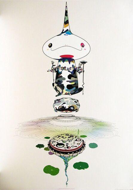 Takashi Murakami, 'Reversed double helix (white)', 2005