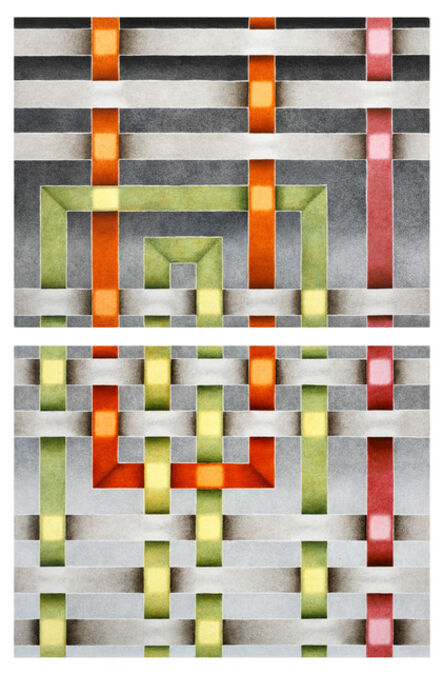 Mark Leonard, 'Diptych I', 2010