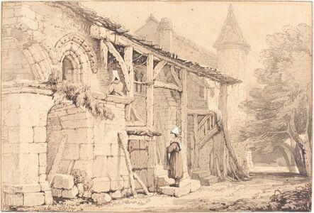 Samuel Prout, 'Scene at Jumièges', 1820/1830