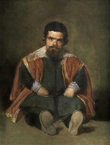 Diego Velázquez, 'The Buffoon el Primo', 1644