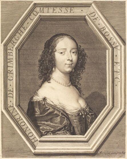 Jean Morin, 'Honorine Grimberge, comtesse de Bossu'