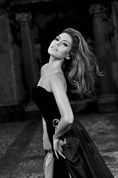 "Francesco Vezzoli, 'Eva Mendes in ""Jeu De Paume, Je t'aime! (Advertisement for an Exhibition That will Never Open)""', 2009"