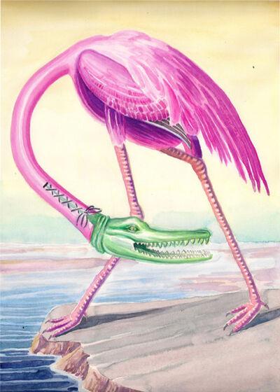 Jérémie Paul, 'Croco Flamingo', 2014