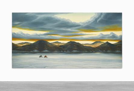 Dan Attoe, 'Sunset at the Bonneville Salt Flats (I have these dreams.)', 2017