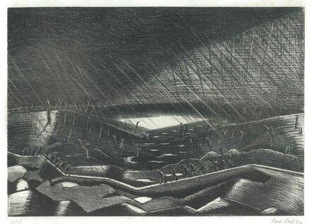 Paul Nash, 'Lake Zillebeke', 1917