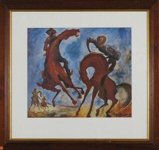 Elizabeth Durack, 'Breaking Colts ', 1935-2000