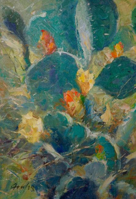 Gordon Fowler, 'Cactus Flowers ', 2017