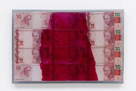 João Castilho, '10 (da série Dinheiro Pintado)', 2015