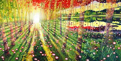 Oscar Oiwa, 'Path to the Light', 2018