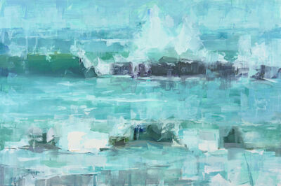Jacob Dhein, 'Study of Pescadero Beach Wave', 2015