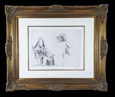 Pablo Picasso, 'Salome dansant pour Herode', 1971