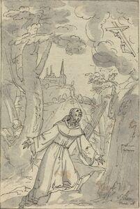 Johann Matthias Kager, 'The Stigmatization of Saint Francis', 1607