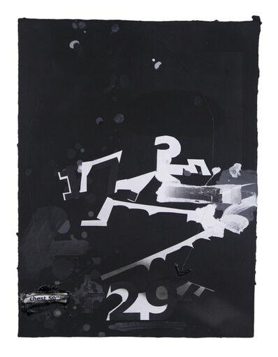 Suzanne McClelland, 'In the Black #6', 2015