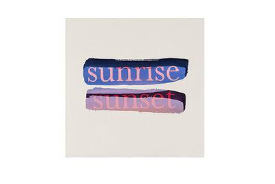 Dane Lovett, 'Sunrise Sunset', 2014