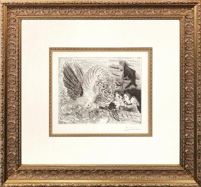 Pablo Picasso, 'TAUREAU AILE CONTEMPLE PAR QUATRE ENFANTS (BLOCH 229)', 1934