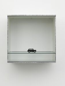 Haim Steinbach, 'Untitled (London taxi)', 2013