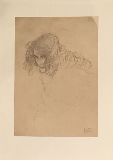 Gustav Klimt, 'Untitled II.V', 1964