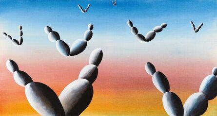 Andreas Schulze (b. 1955), 'Sonnenaufgang an der Algarve', 1995