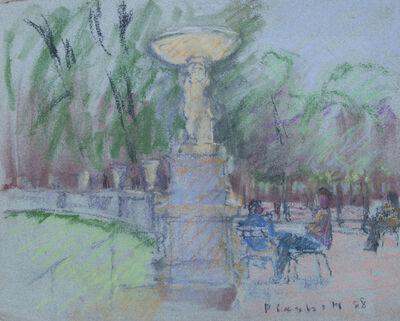 Joseph Plaskett, ' In the Luxemburg Gardens (33A)', 1988