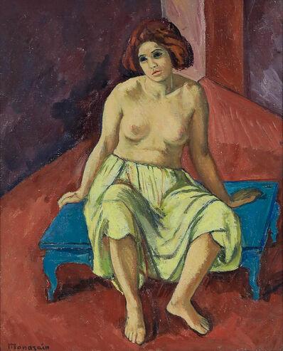Simon Mondzain, 'Nue Assise', 1926