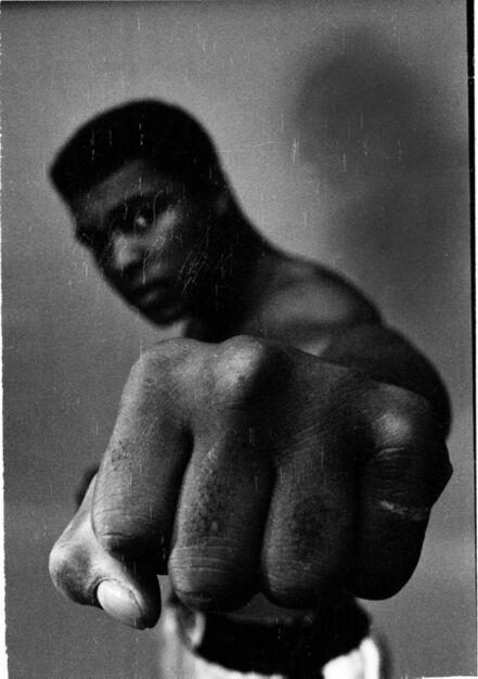 Thomas Hoepker, 'Ali's left fist', 1966
