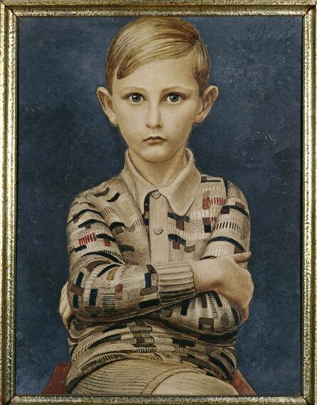 Kurt Günther, 'Portrait of a Boy (Knabenbildnis)', 1928