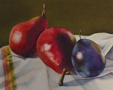 """Kathrine Lemke Waste, '""""Red Pears, Blue Plum""""', 2012"""