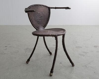 "Babacar Niang, '""Awa"" Sculptural Side Chair', 2014"