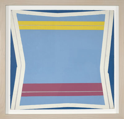 Larry Zox, 'Silver Line', 1964