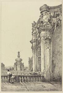 Samuel Prout, 'Zwinger Palace, Dresden'