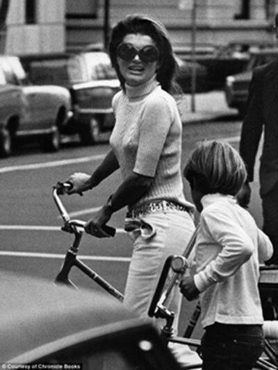 Ron Galella, 'Jackie Kennedy and John Kennedy, Jr., New York ', 1969