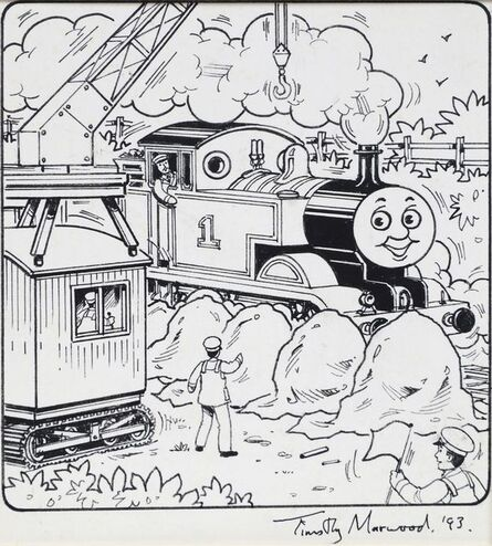 Timothy Marwood, 'Thomas the Tank Engine', 1993