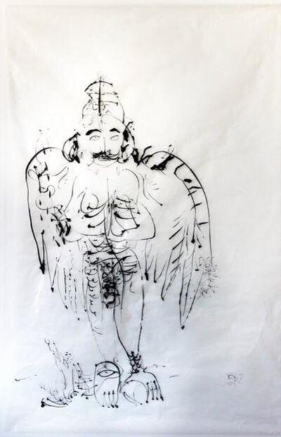 ANURADHA DELACOUR, 'Garuda d'Inde ', 2014
