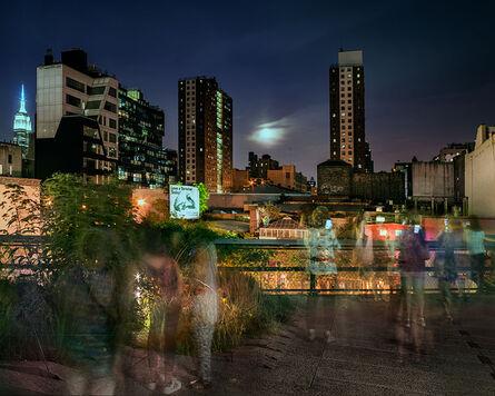 Matthew Pillsbury, 'Super Moon on the High Line', 2015