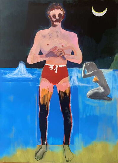 Peter Doig, 'Bather for Secession', 2020