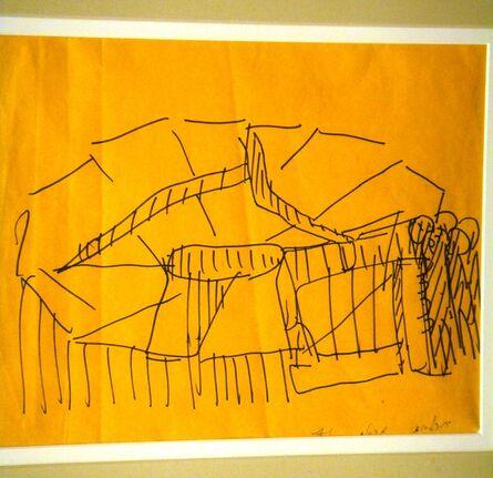 Itzhak Danziger, 'Sheepfold as Mirrors', 1971